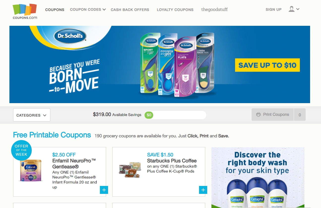 coupons.com API