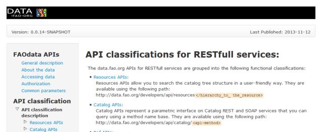 Faostat Data API