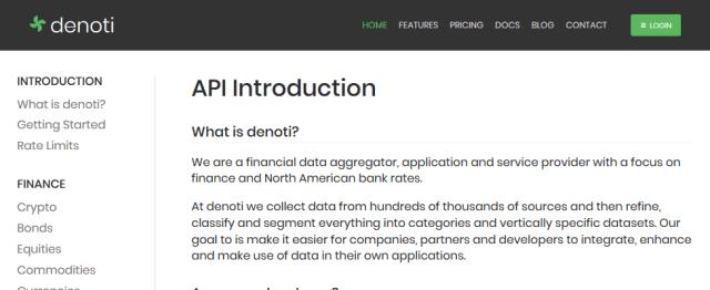 Denoti API