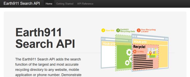 Earth911 Search API