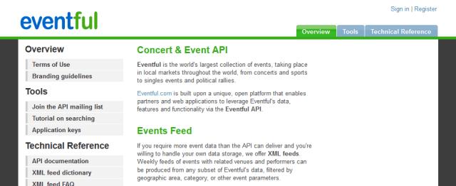 Eventful API
