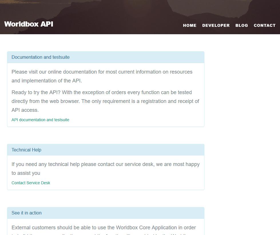 Worldbox API