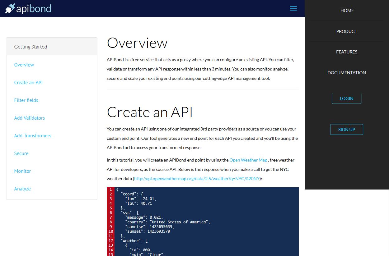 APIBond API