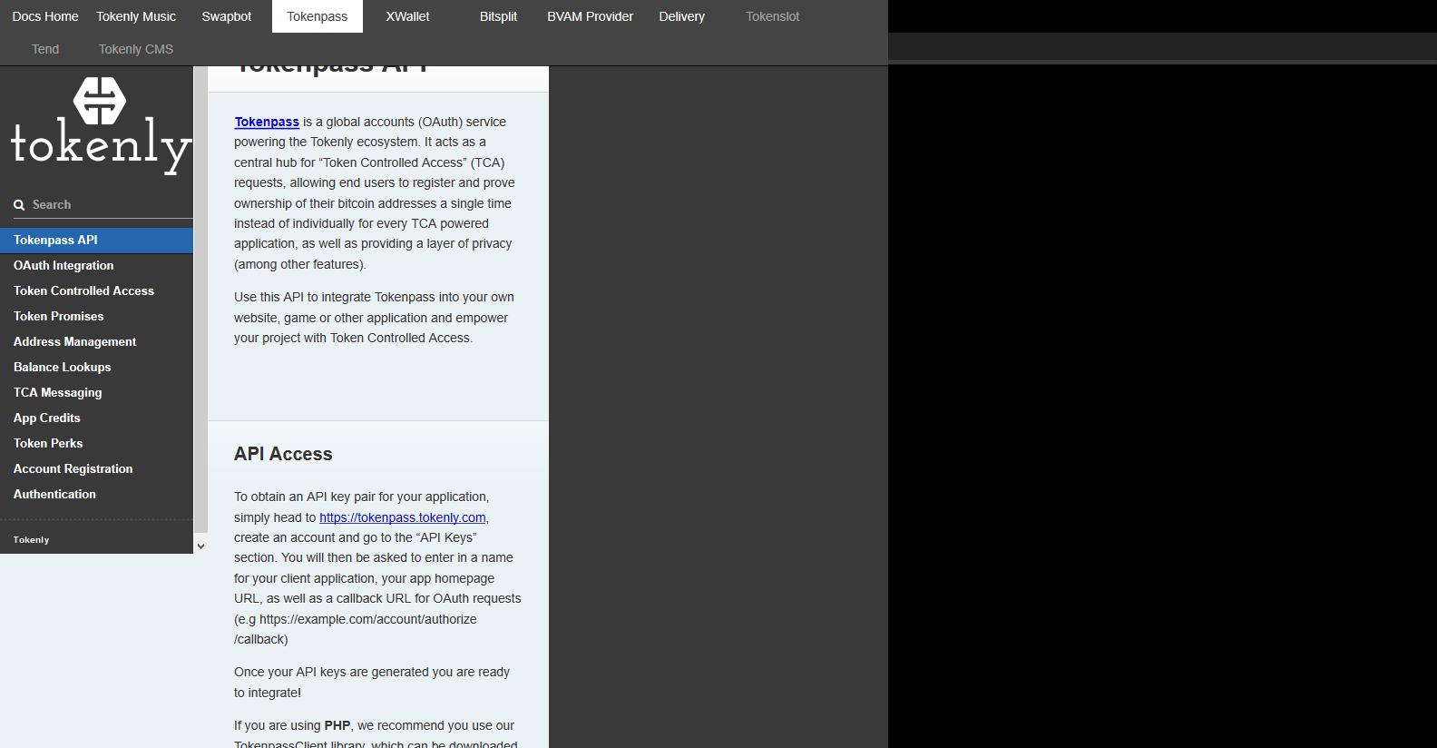 Tokenly Tokenpass API