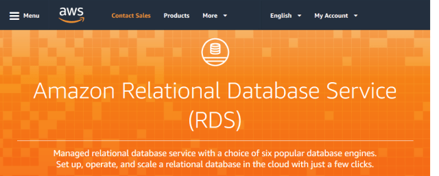 Amazon Rds Relational Database Service API (Overview ...