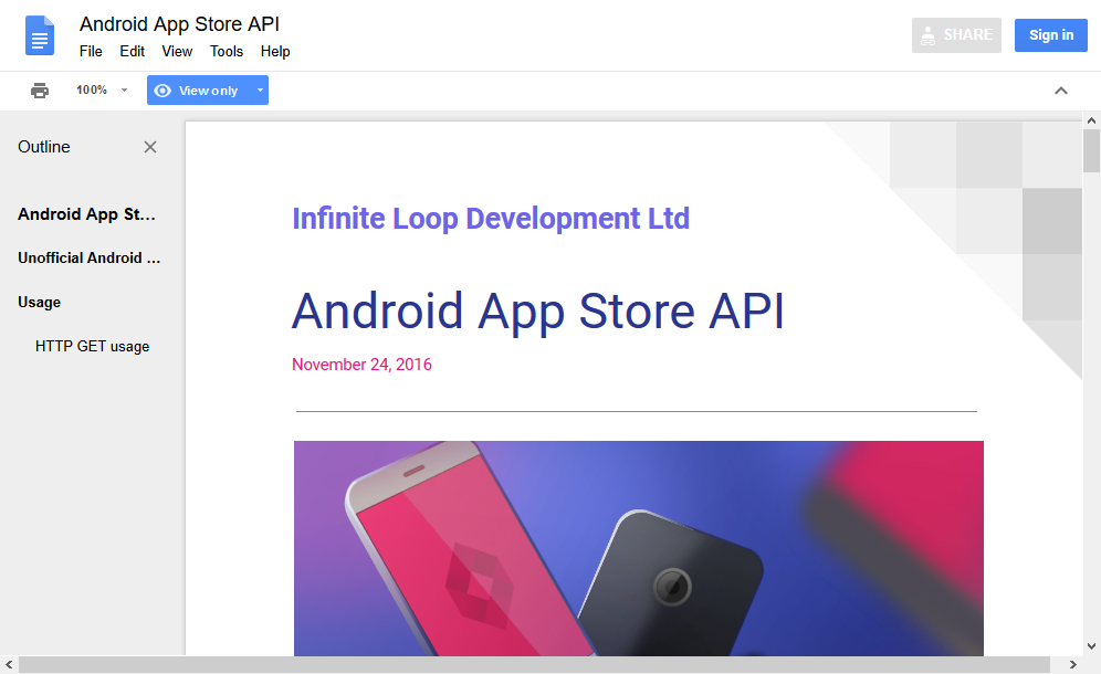 Unofficial Google Play Store API