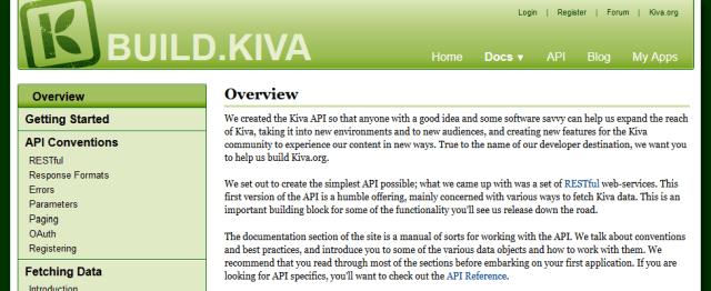 Kiva API
