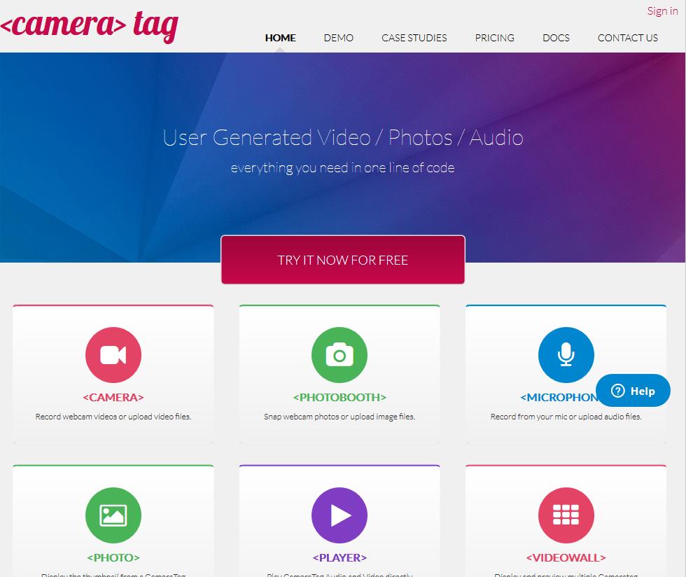 CameraTag API