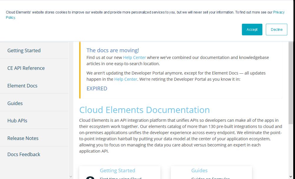 Cloud Elements Hub API