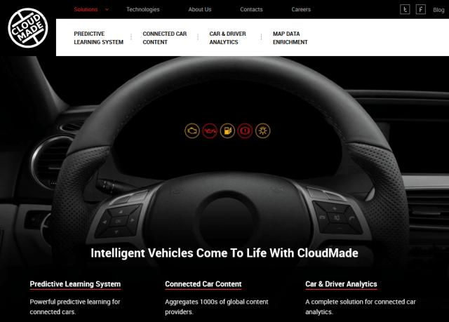 Cloudmade API