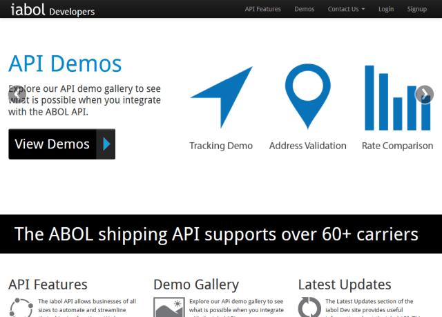 Iabol Shipping Software API