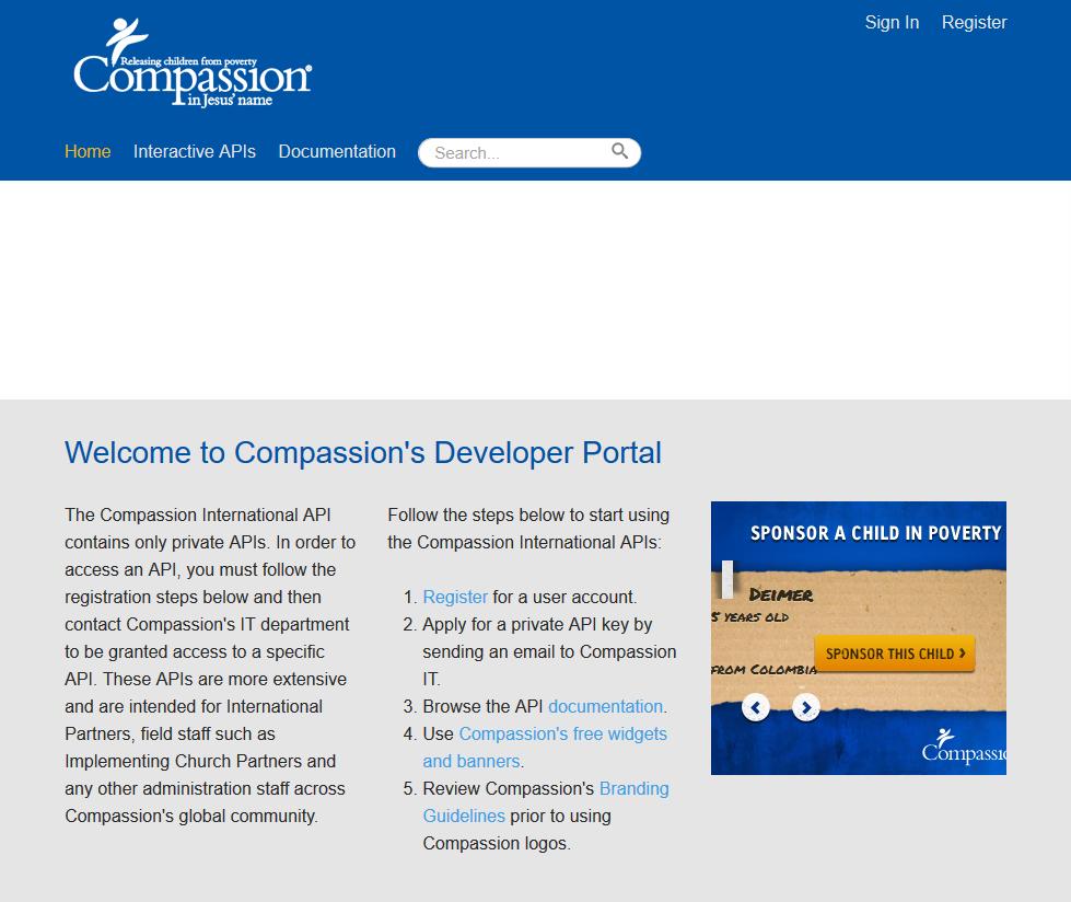 Compassion International API