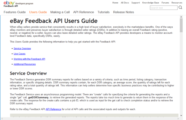 Ebay Feedback Api Overview Documentation Alternatives Rapidapi