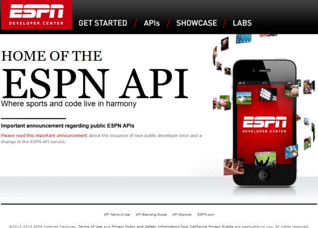 ESPN API
