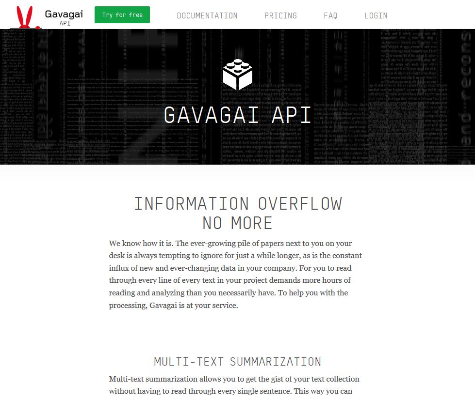 Gavagai API