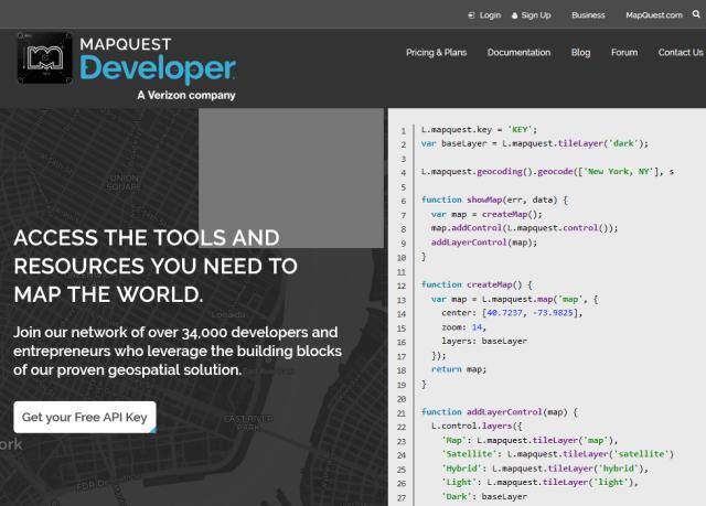 Mapquest API
