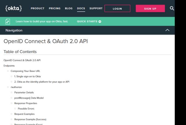 Okta Oauth API