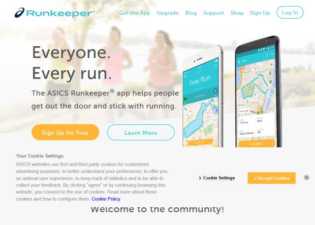 Runkeeper Health Graph API