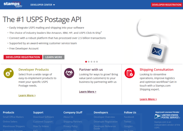 Stampscom API