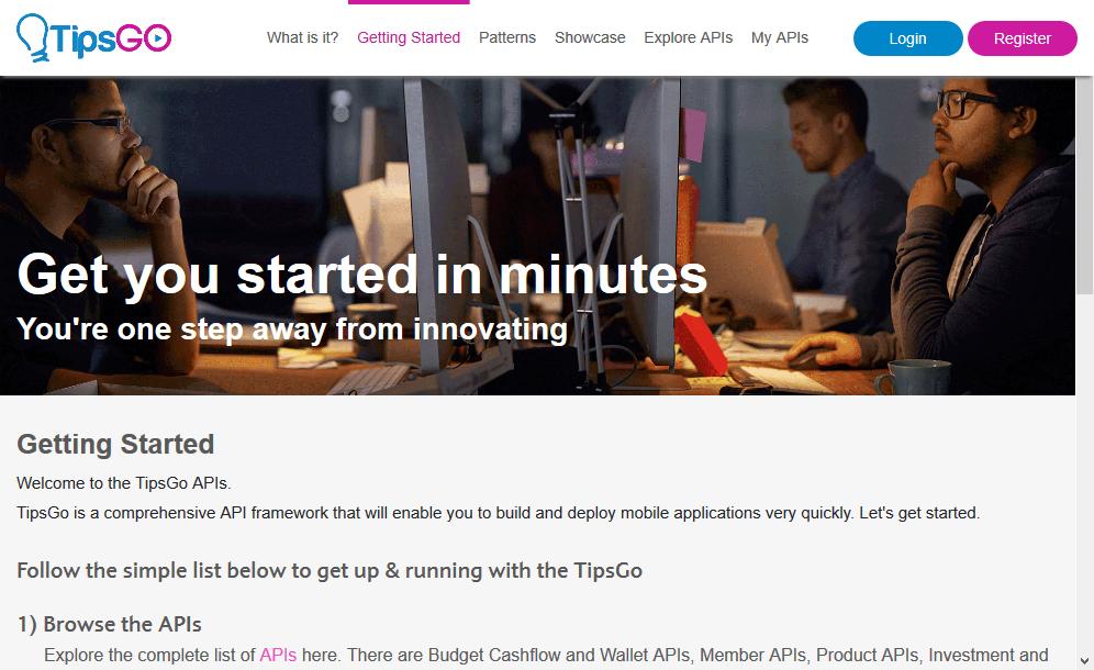TipsGO Member API