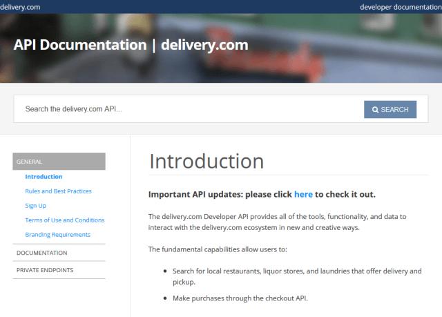 Deliverycom API