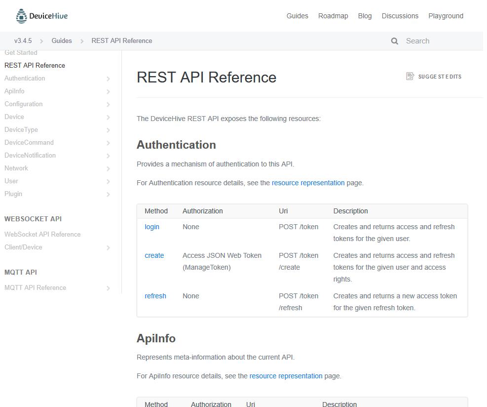 DeviceHive API