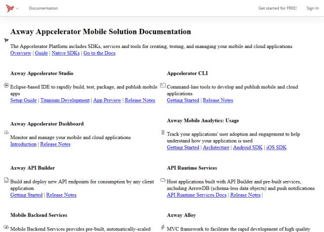 Appcelerator API