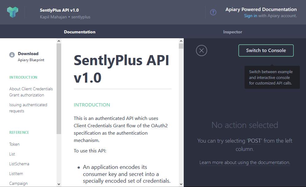 SentlyPlus API