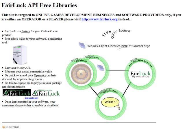 Fairluck API