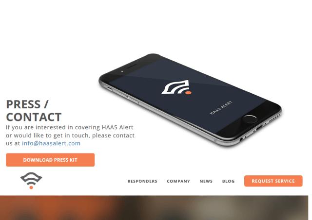 Haas Alert API
