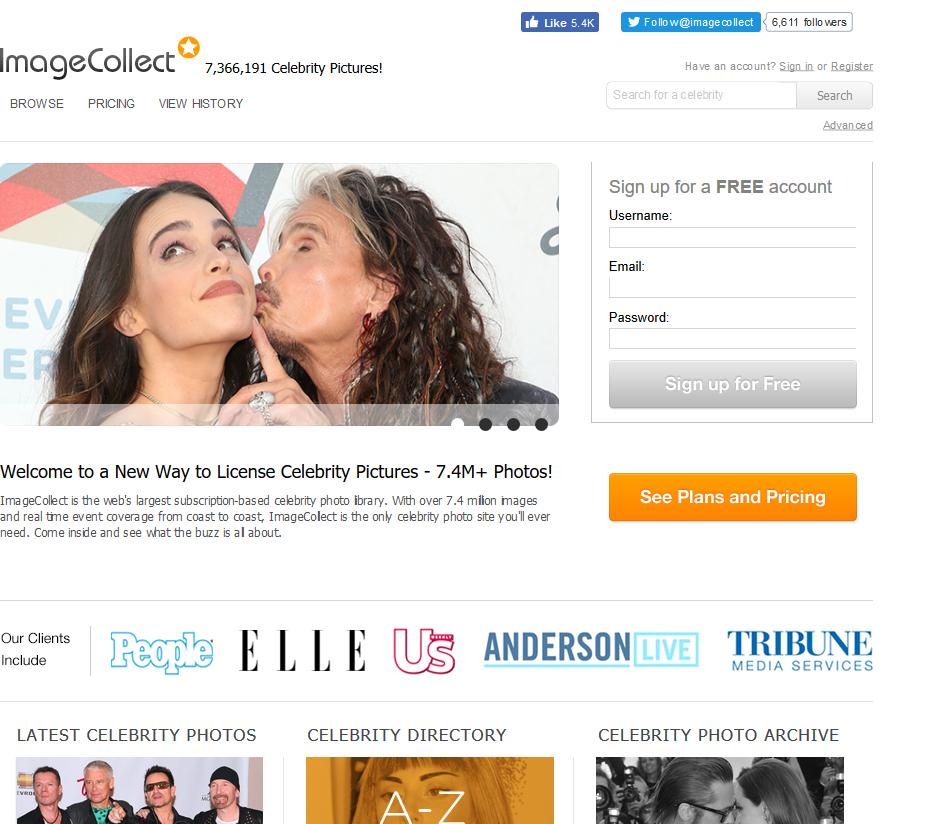 ImageCollect API