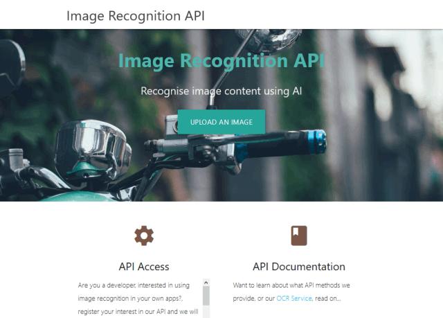 Image Recognition API