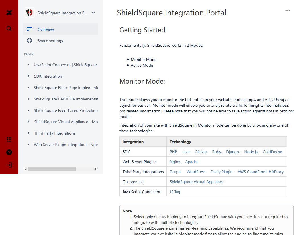 ShieldSquare Bot Prevention API
