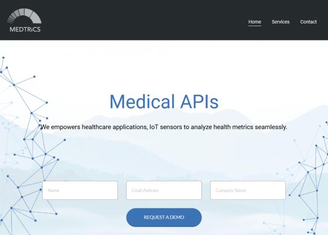 Medtrics Analytics Service Maas API