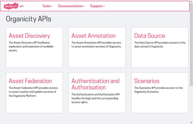 Organicity Datasource API