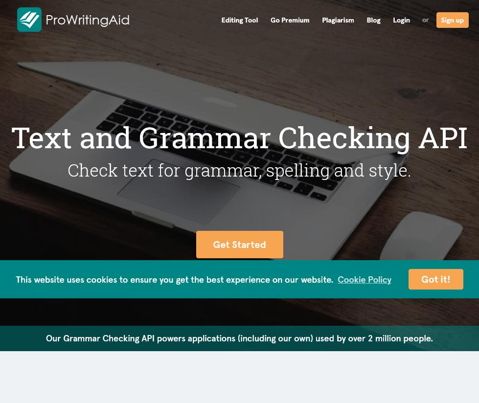 Pro Writing Aid API