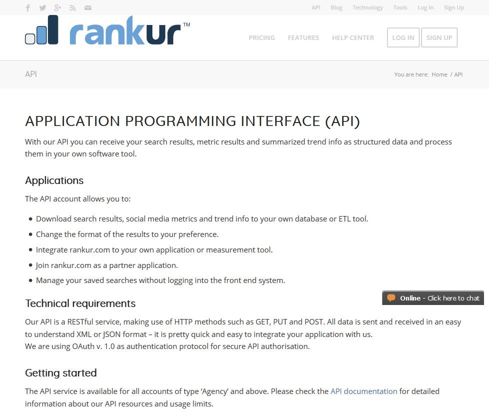 Rankur API