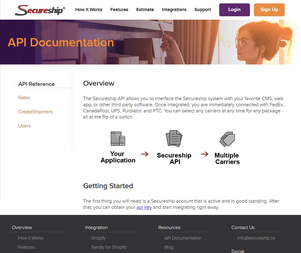 Secureship API