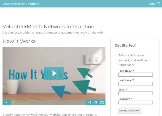 Volunteermatch API