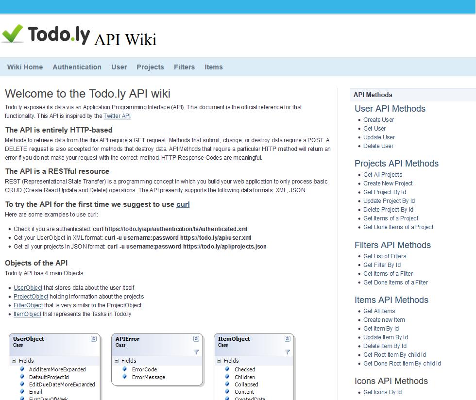 Todo.ly API