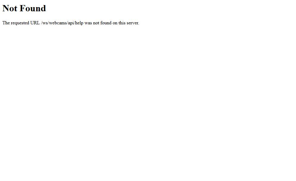 USC Webcam API