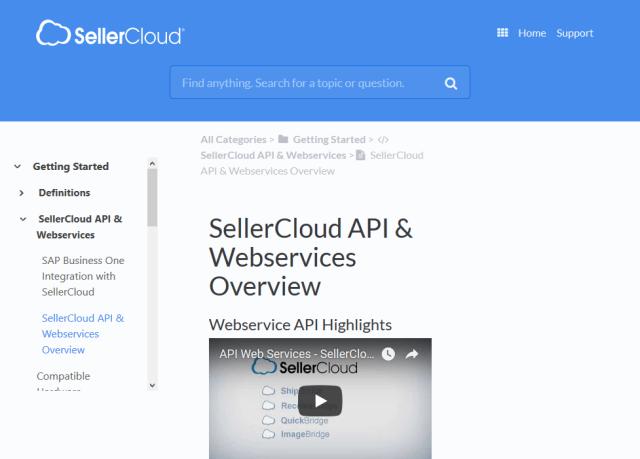 Sellercloud API