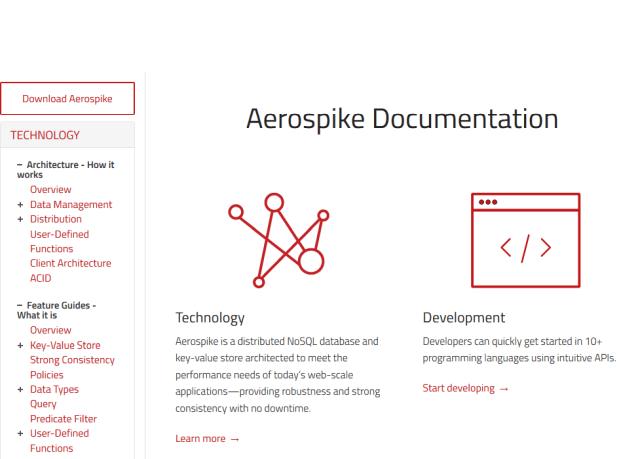 Aerospike API