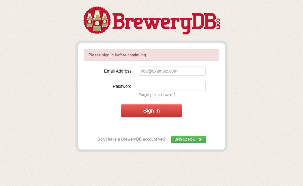 Brewery DB API
