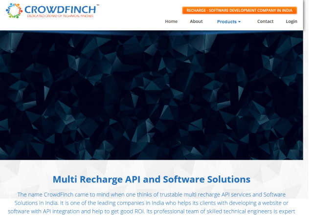 Crowdfinch Mobile Recharge API