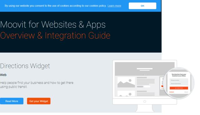 Moovit API