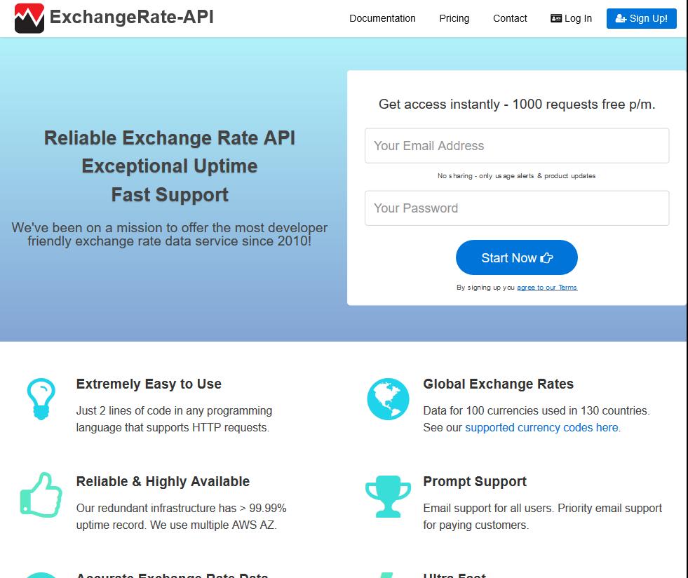 Exchange Rate Api Overview