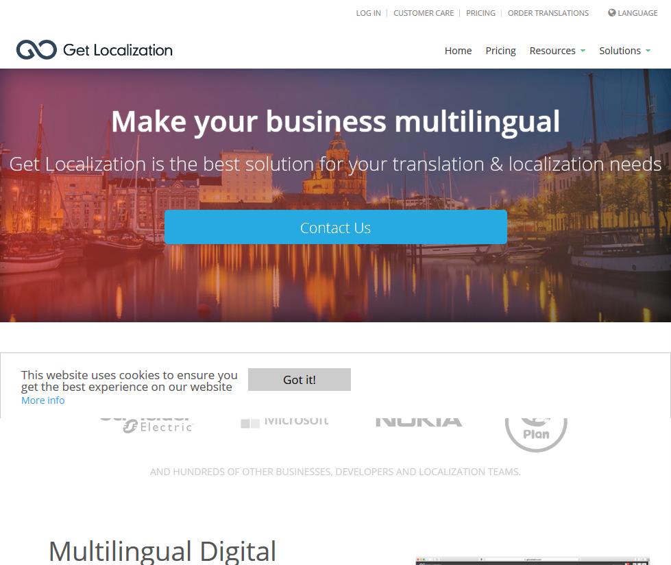 Get Localization API