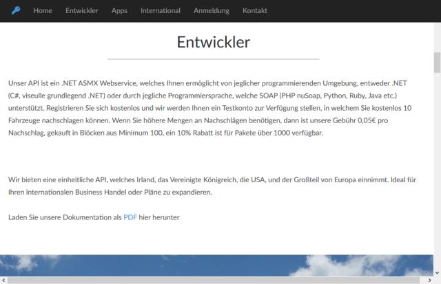 Nat Code Austria API