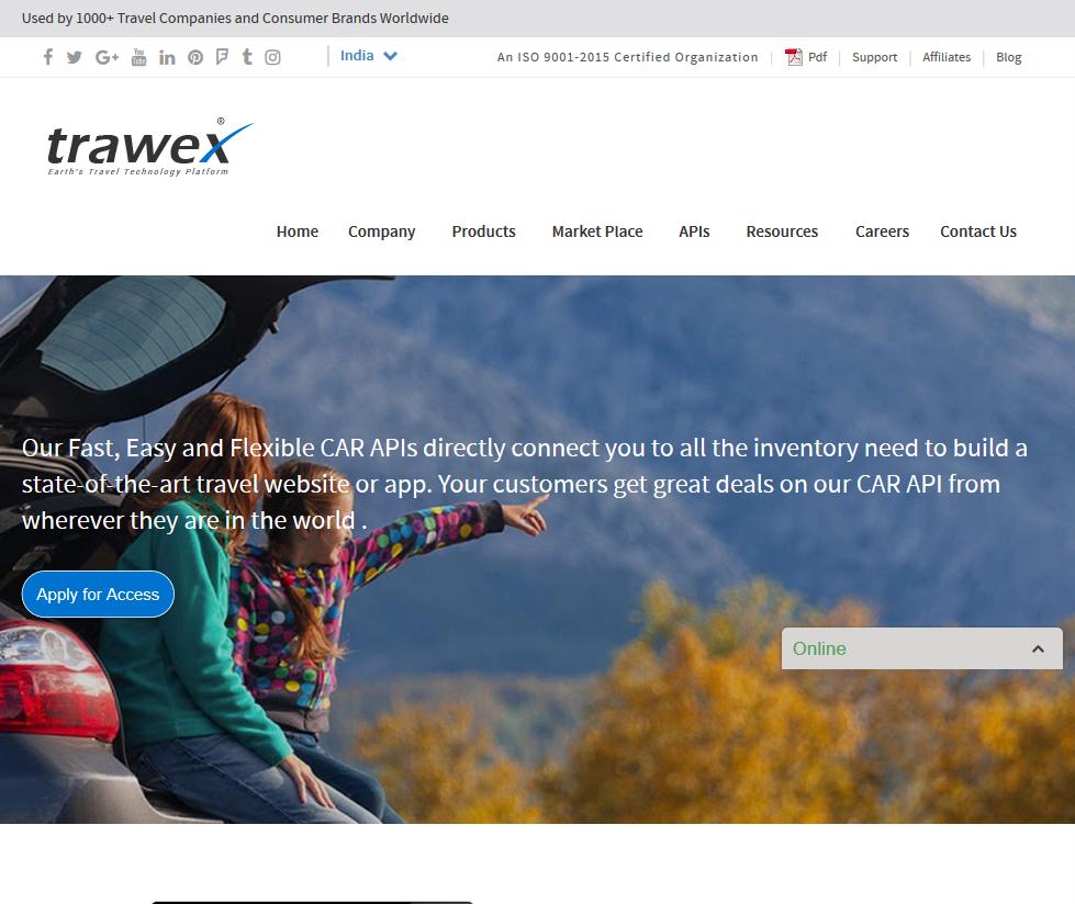 Trawex Car API